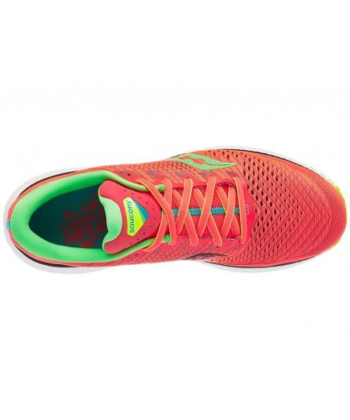 Scarpe Scarpe Running uomo Saucony Triumph 18 Red mutant rouge S20595-10 136,00€