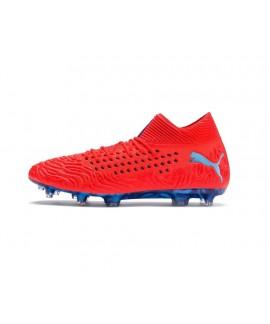 Scarpe Scarpa calcio uomo Puma Future 19.1 Netfit FG/AG Red blast-bleu Azur 105531 01 149,00€
