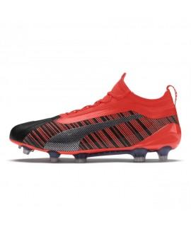 Scarpe Scarpa calcio uomo Puma One 5.1 FG/AG black-nrgy red-aged silver 149,00€