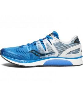 Scarpe Scarpa running uomo Saucony Liberty ISO blu/wht/blk bleu noir blanc S20410-2 126,75€