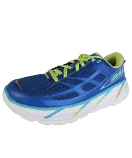 Scarpe Scarpa Hoka One One Donna Neutra - CLIFTON 2 - True Blu/Sunny Lime 145,00 €