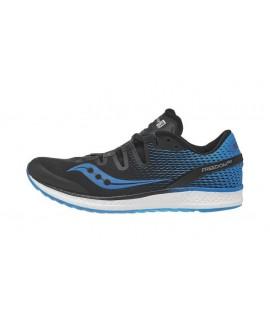 Scarpe Scarpa running uomo Saucony Freedom ISO Blk/blue noir/bleu S20355-7 109,85€