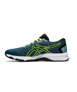 Scarpe Scarpa bambino Asics GT-1000 9 GS Magnetic Blue/Safety Yellow 1014A150-406 59,00€