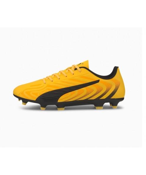 Scarpe Scarpa calcio uomo Puma One 20.2 Fg/AG yellow-puma black-orange 105823 01 99,00€