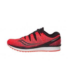 Scarpe Scarpa running uomo Saucony Freedom ISO 2 Viz red/blk rouge/noir S20440-35 120,25€