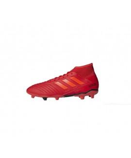 Scarpe Scarpa bambino calcio Adidas Predator 19.3 FG J Actred/solred/cblack 50,00€