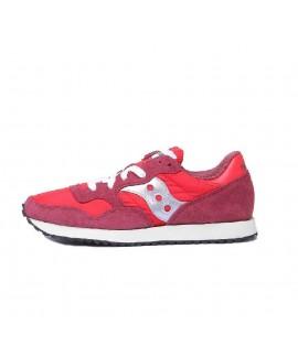 Scarpe Scarpa Saucony Dxn Trainer Vintage red/sil rouge S70369-7 109,00€